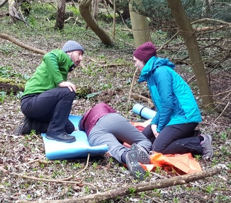 Outdoor First Aid Courses for instructors